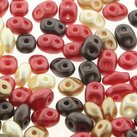 Superduo Chocolate Covered Cherries 2,5x5mm 10g