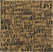 Live Love Laugh 30x30cm