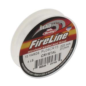 Fireline Crystal 4LB= 0,12mm 1rulle